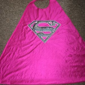 Other - Pink Girl's superhero supergirl cape
